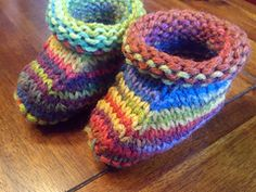 Ravelry: Ellie's Perfect Bootees pattern by Ellie Rice