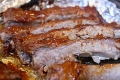 St Louis Rack of Ribs with a Knock Your Socks Off Barbecue Sauce!