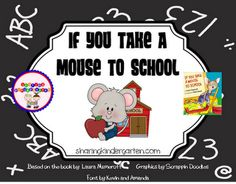 If You Take a Mouse to School Unit $