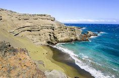 Green Sands Beach #hawaii #bigisland