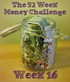 The Weekly Money Challenge - you game!