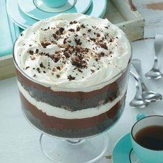 Chocolate Trifle Recipe from Taste of Home shared by Pam Botine of Goldsboro, North Carolina