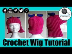 ▶ Crochet WigTutorial - YouTube