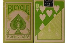 Bicycle Fashion Green Playing Cards. #playingcards #poker #games
