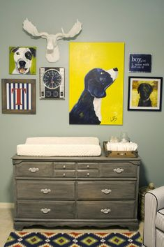 changing table wall
