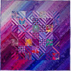 bargello quilt, the color purple, lavender quilts, art quilt, colors
