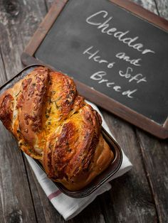 Soft Cheese Bread - Cheddar and Herb