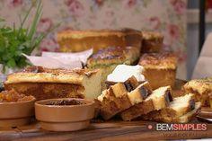 Pão de forma caseiro. Por Palmirinha Onofre. www.bemsimples.com/br/receitas/66437-pao-de-forma-caseiro