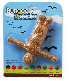 bungee birdfeeder