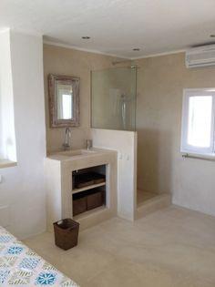 Keuken on pinterest vans concrete countertops and doors - Badkamer scheiding ...