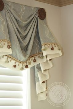 Custom Drapery Designs, LLC. - Trim, Hardware, & Details