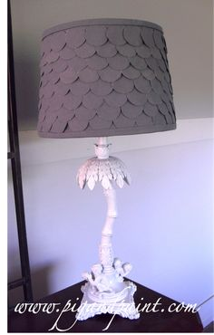 Cover you own lampshade tutorial @Leah Cameron and Paint