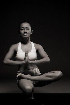 yoga pose - half lotus.  #yoga!nspired