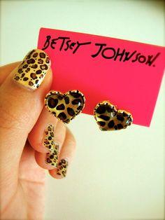 Love Betsey Johnson! Cheetah is everything....
