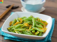 French Beans with Egg Recipe
