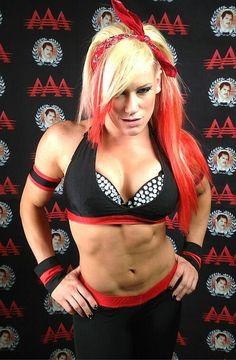 Kira Forster aka Taya Valkyrie, fitness star turned wrestler More