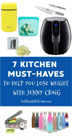 7 Kitchen Must-Haves to Help You Lose Weight with Jenny Craig | No Thanks to Cake