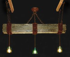 Check this, especially first one! Antique Glass Insulator Chandeliers