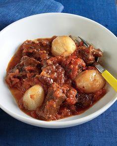 Beef and Tomato Stew - Martha Stewart Recipes