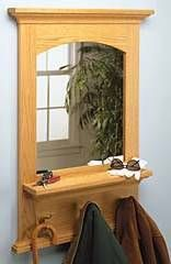 Arched Mirror Woodworking Plans