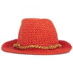 Scotch RBelle Orange Trilby Hat #holiday