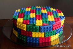 Lego Cake DIY