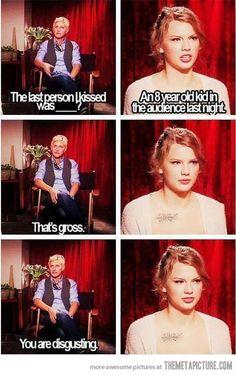 Hahahahaha. I love Ellen.