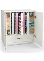 Love the thread rack and the organization!!  Sewing Organization - HUSQVARNA VIKING®