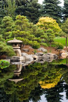 Another great example of a pagoda lantern in the Japanese Garden of the Denver Botanical Gardens.
