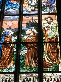 Window at St. Barbara in Kutna Hora, Czech Republic. Photo by Jennifer Scroggins of Franciscan Media.