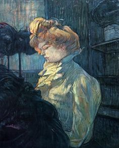 Henri De Toulouse-Lautrec | The Milliner - Henri de Toulouse-Lautrec - WikiPaintings.org