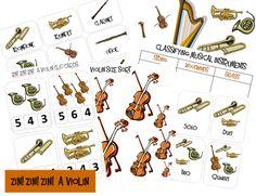Zin! Zin! Zin! A Violin {Printable Book Pack}