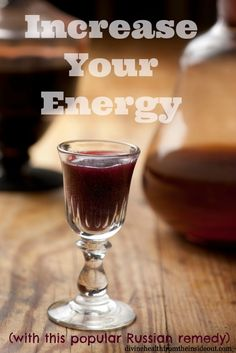 Increase Your Energy With This Popular Russian remedy... I make one  with glycerine !