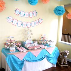 More candy table set up ideas
