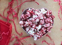 red velvet popcorn, saw this and thought of you @Michelle Gramley Kauk