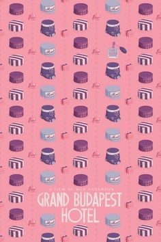 love this alternative poster for the grand budapest hotel!