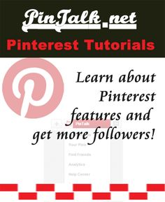 Learn about Pinterest! get more followers! #pinterest tutorials #socialmedia