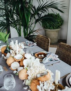 21 Incredibly Gorgeous Floral Runner Ideas Guests Will Flip Over - Wilkie Blog! - Tropical floral table runner