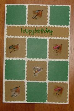Birthday Fishing Card