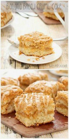 Back to Home » Banana Bread Crumb Cake