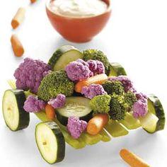Mini Veggie Wagon..very cute!