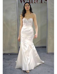 Wedding dresses for busty brides on pinterest lela rose for Busty brides wedding dresses