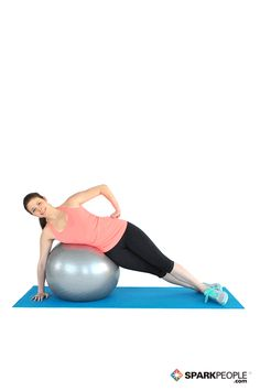 Work your #abs and #obliques with this #beginner #exercise! | via @SparkPeople
