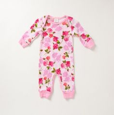 Floral Coverall