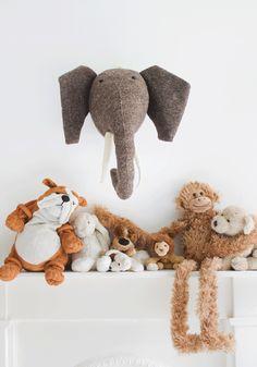 Decorative animal head - Mister Elephant
