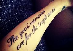 Long Black Short Love Quote Tattoos for Girls - Cool Short Love Quote Tattoos for Girls