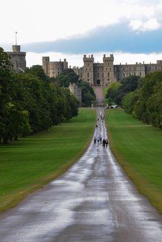 Windsor Castle Front Walk