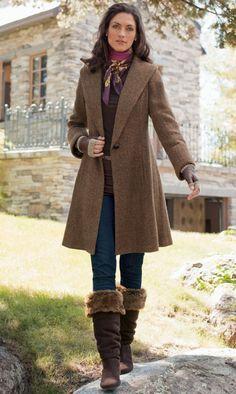 The coat!  Soft Surroundings
