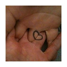 We are trying to figure out a tattoo we want to get together... I like this one... simple and fun.