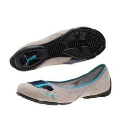 PUMA Saba Ballerina Flats...want these for spring!